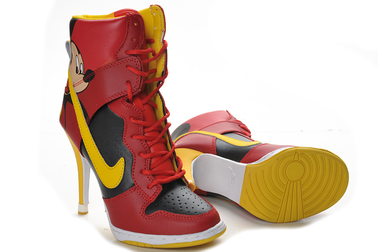 Nike Dunk High Heel Boots