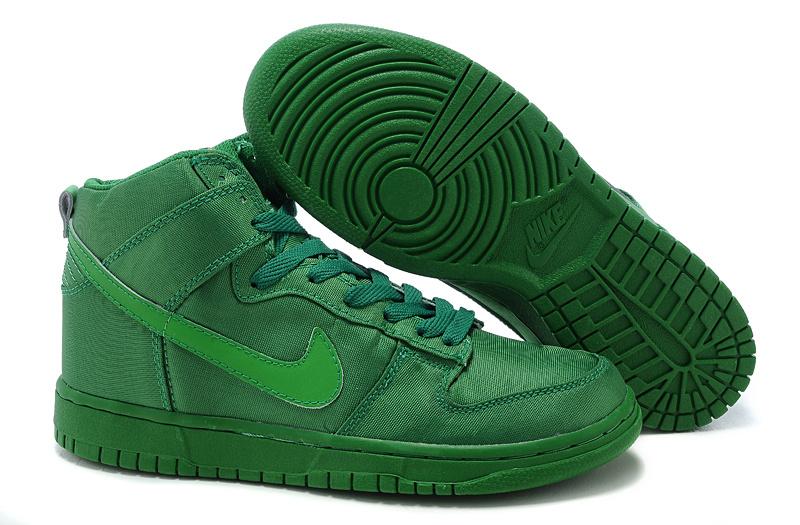nike sneakers green -